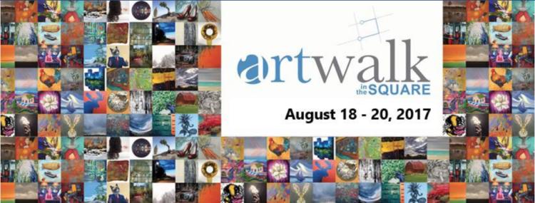 Josee Duranleau: ArtWalk in the Square 2017