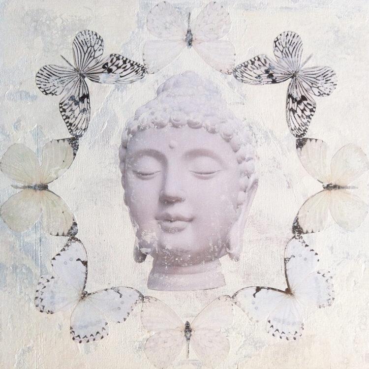 Buddha Butterflies - White