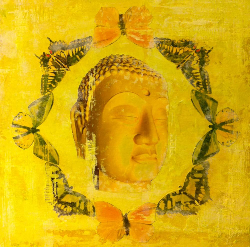 Buddha Butterflies - Yellow