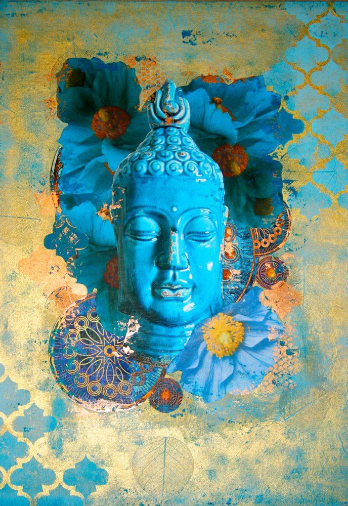 Buddha in Bloom No. 2