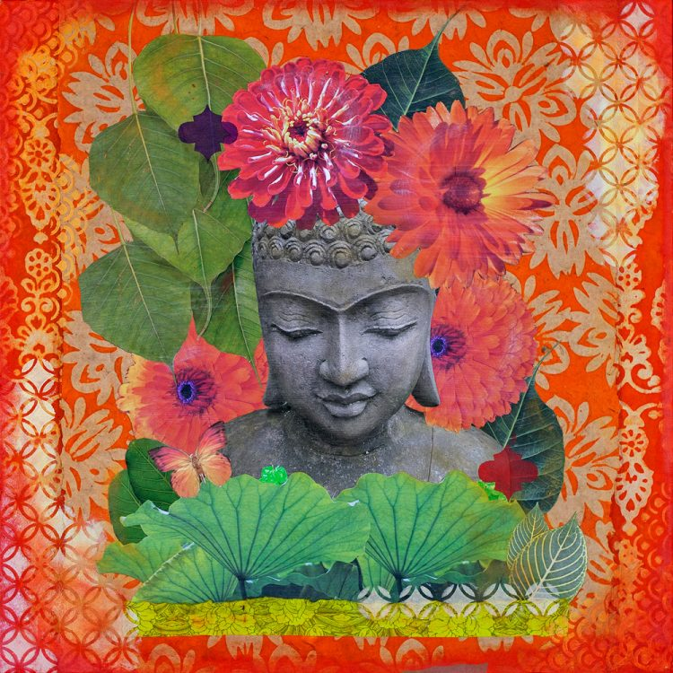 Buddha in Bloom No. 6