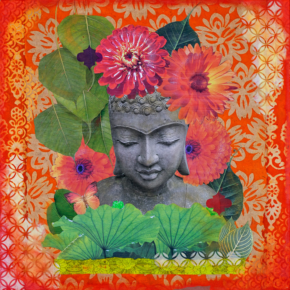 Buddha in Bloom No. 6