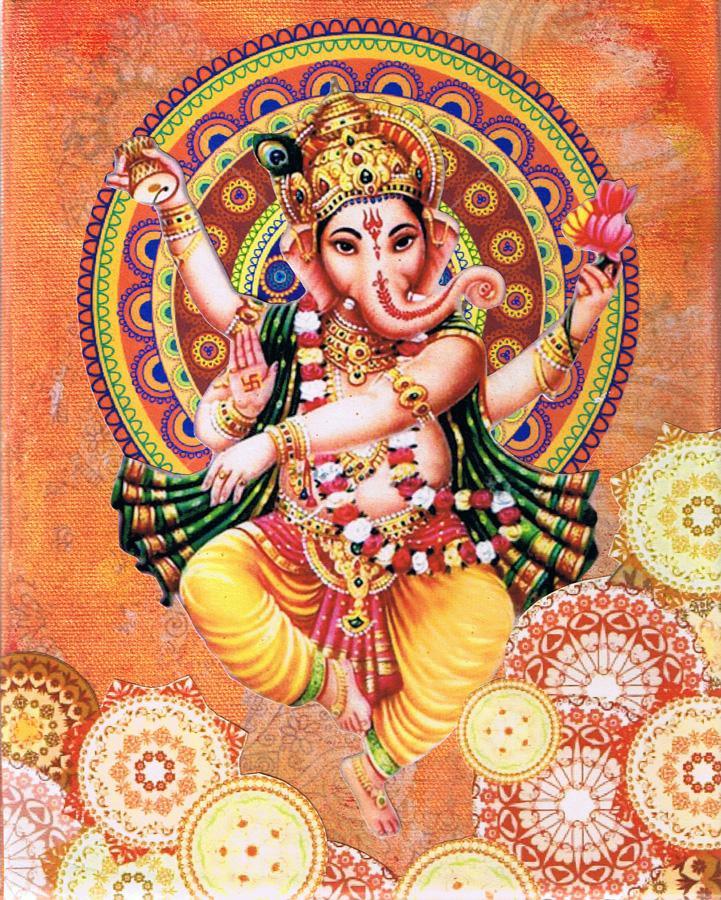 Not For Sale >> Dancing Ganesha - Josee Duranleau