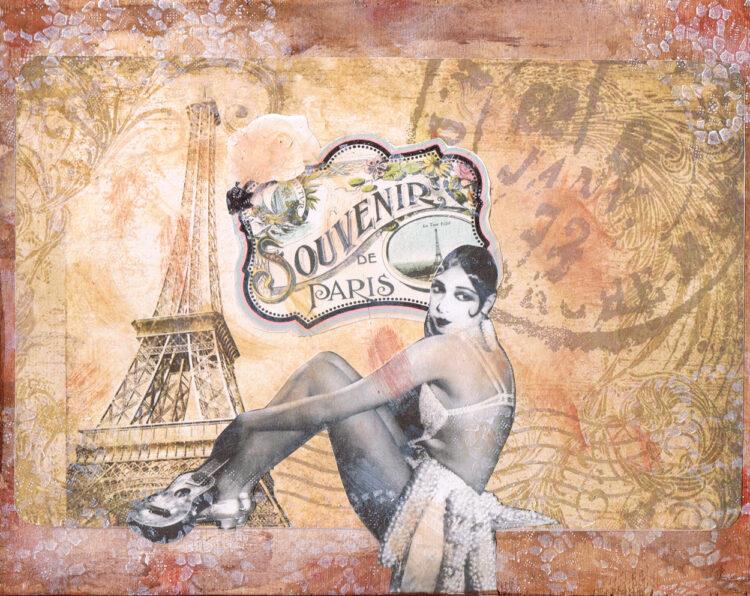 Josephine Baker Souvenirs de Paris