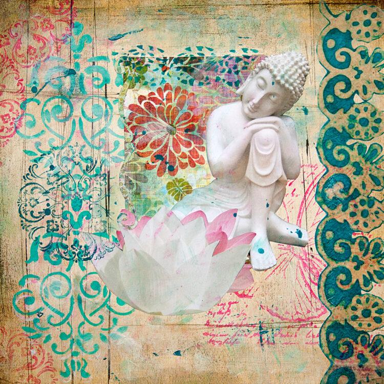 Resting Buddha: Serenity & Grace