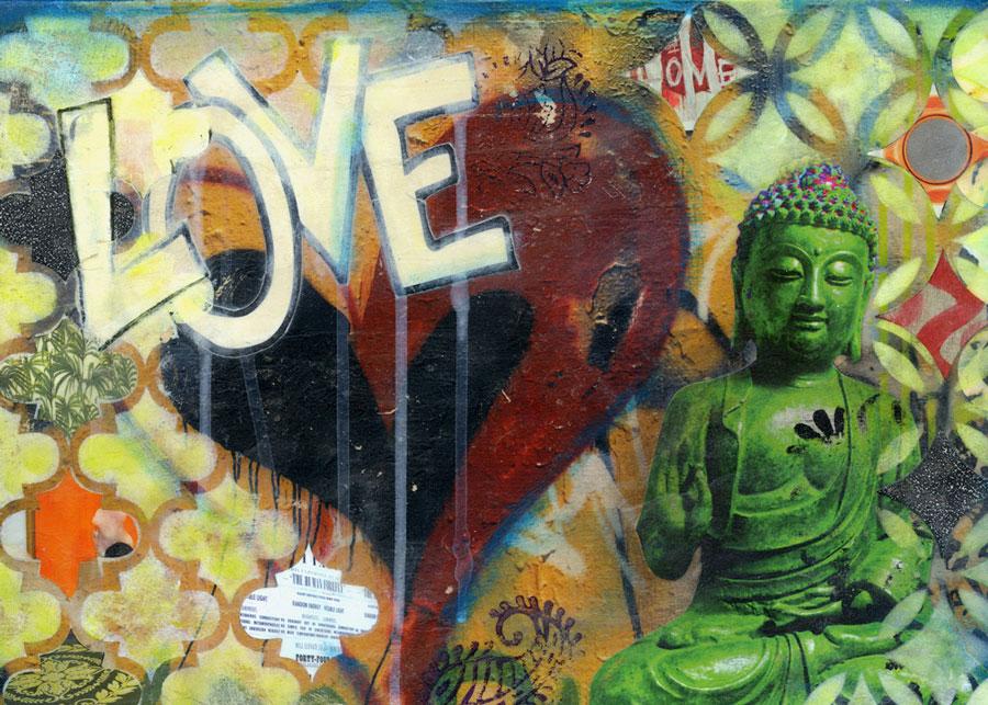 Buddha Love Print