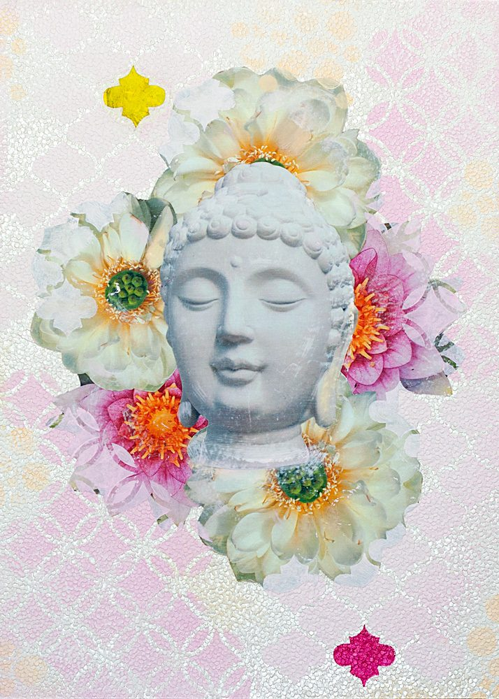 Josee Duranleau: Buddha in Bloom #1 Print