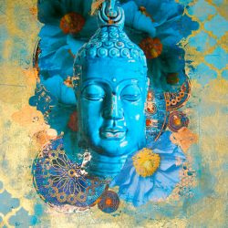 Buddha in Bloom #2 Print