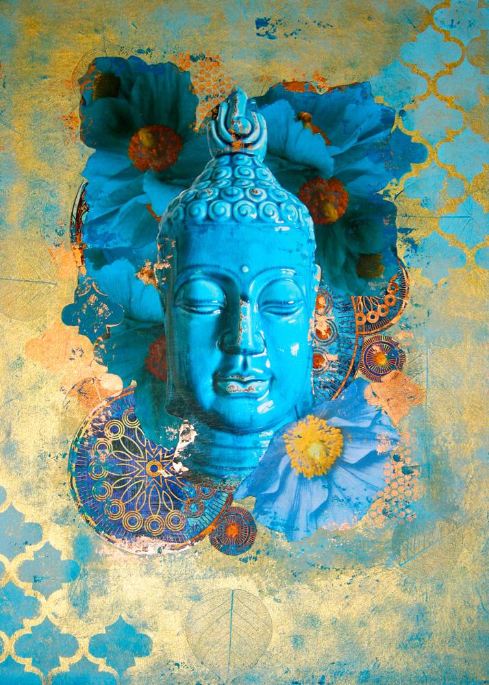 Buddha in Bloom #2 Print