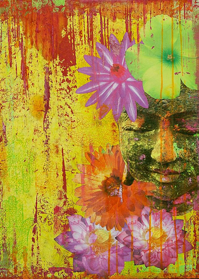 Buddha in Bloom #5 Print