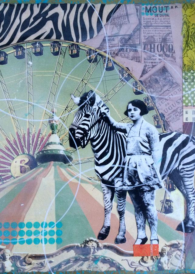 Z For Zebra Print